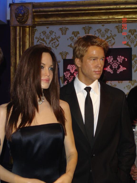 Brad Pitt und Angelina