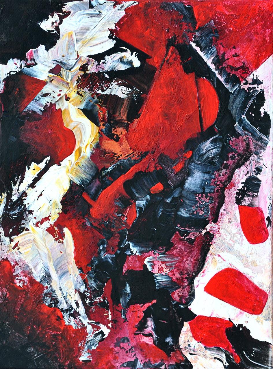 AUFBRUCH/ Acryl auf Leinwand/50x70 verkauft