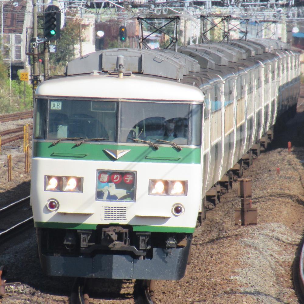 国鉄185系 写真提供:鉄道好きの友人たち