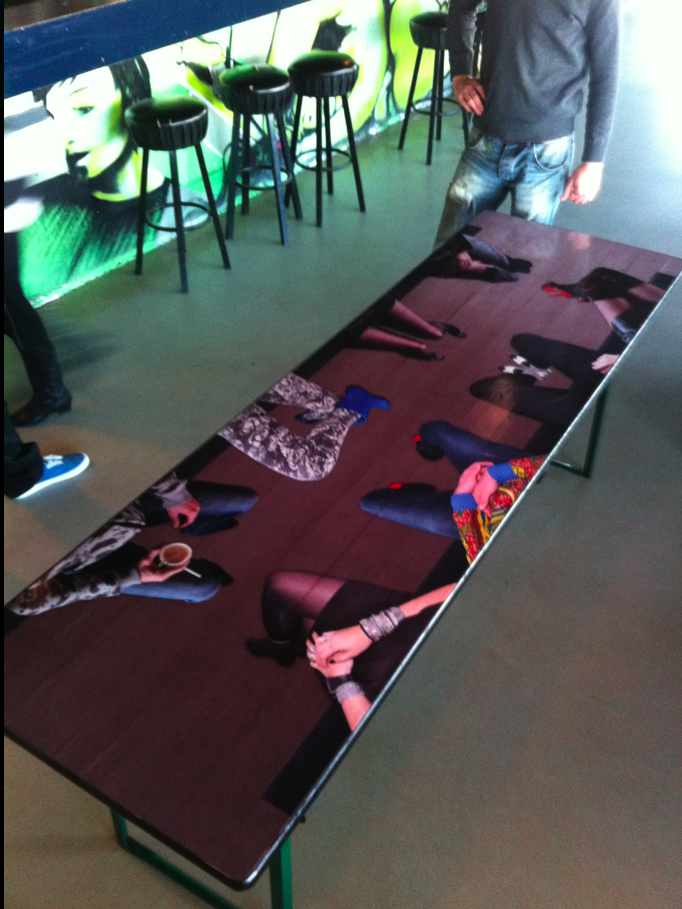 Table design // Canvas, Amsterdam