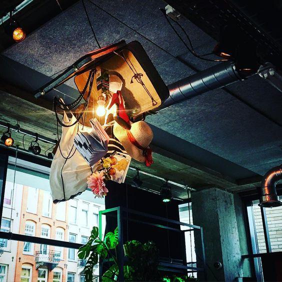 Lamp design // Volkshotelm Amsterdam