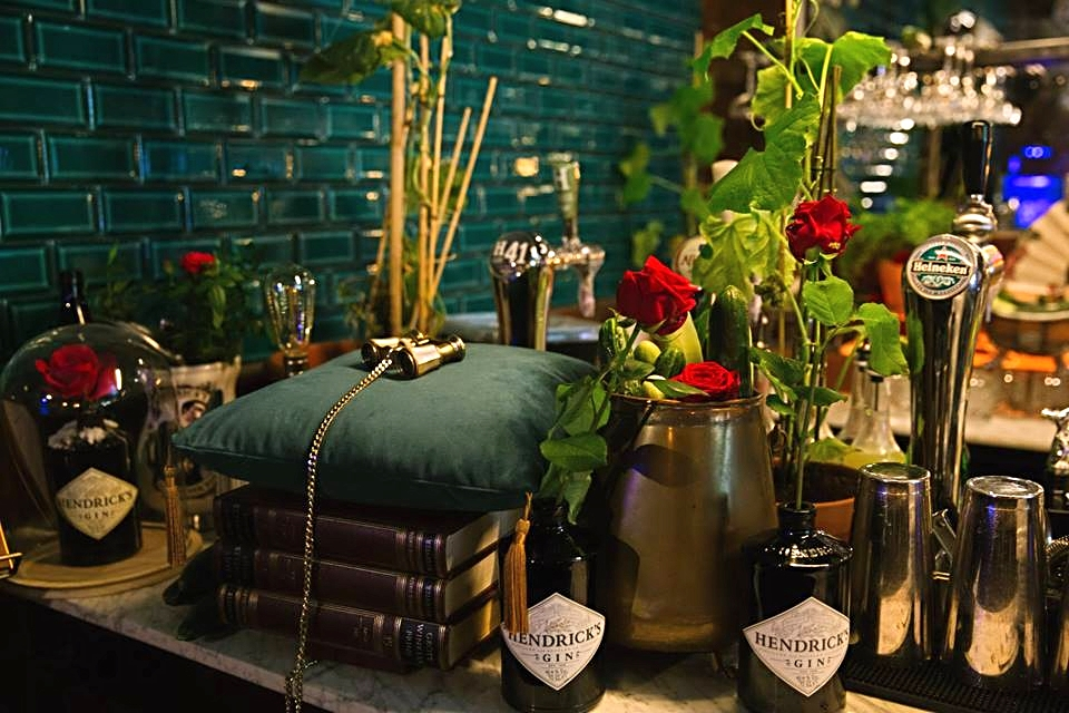 Event Styling // Hendrick's Gin // Commissioned by Bureau JEZ