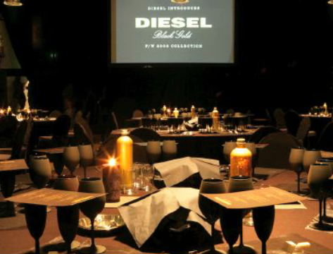 Event Styling // Diesel, Amsterdam // Commissioned by Wink