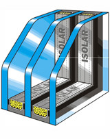 Fenster mit Wärmeschutzverglasung einbauen