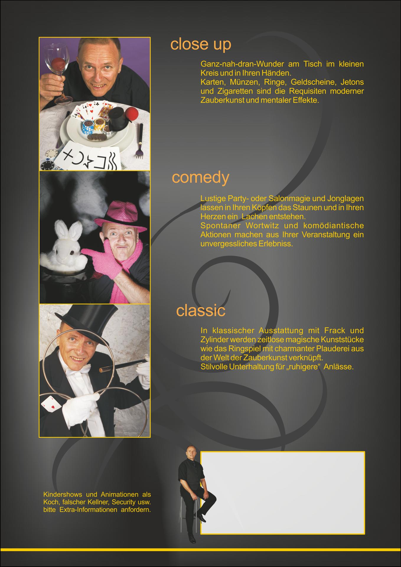 Ich bin 3 Zauberer Das Programm 2009