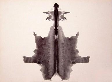 Rorschach-Test. Testtafel