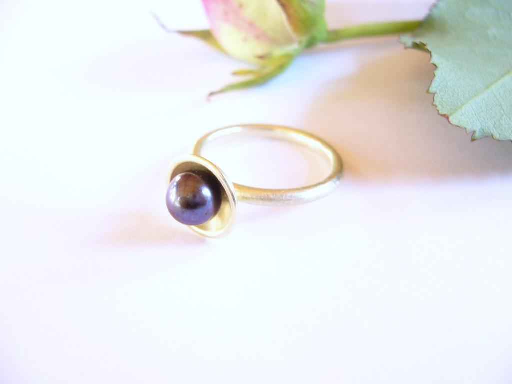 Anfertigung für Kunden: Ring aus 585/- Gelbgold