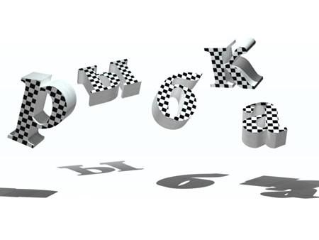 3D, Чеканка, фотошоп, разбиваем на сетки