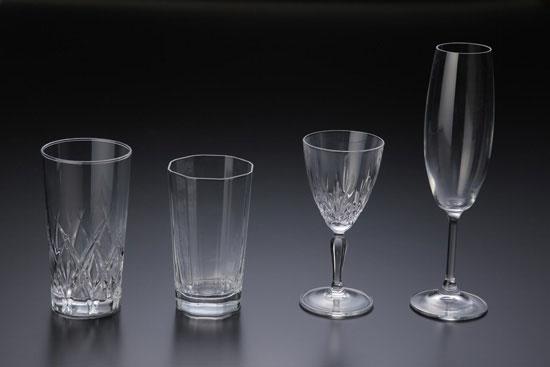 ガラス透明撮影