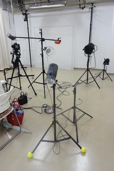 スタジオライティング機材