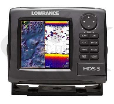mit Heckgeber 50//200//455//800 kHz Fischfinder Lowrance Mark-4 HDI Kombiger/ät GPS-Kartenplotter Hybrid Dual Imaging
