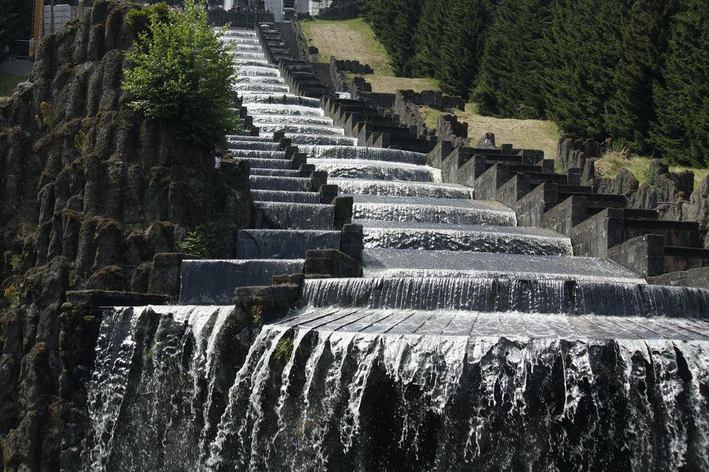 Wasserspiele, Kaskaden in Kassel- Schloss Wilhelmshöhe