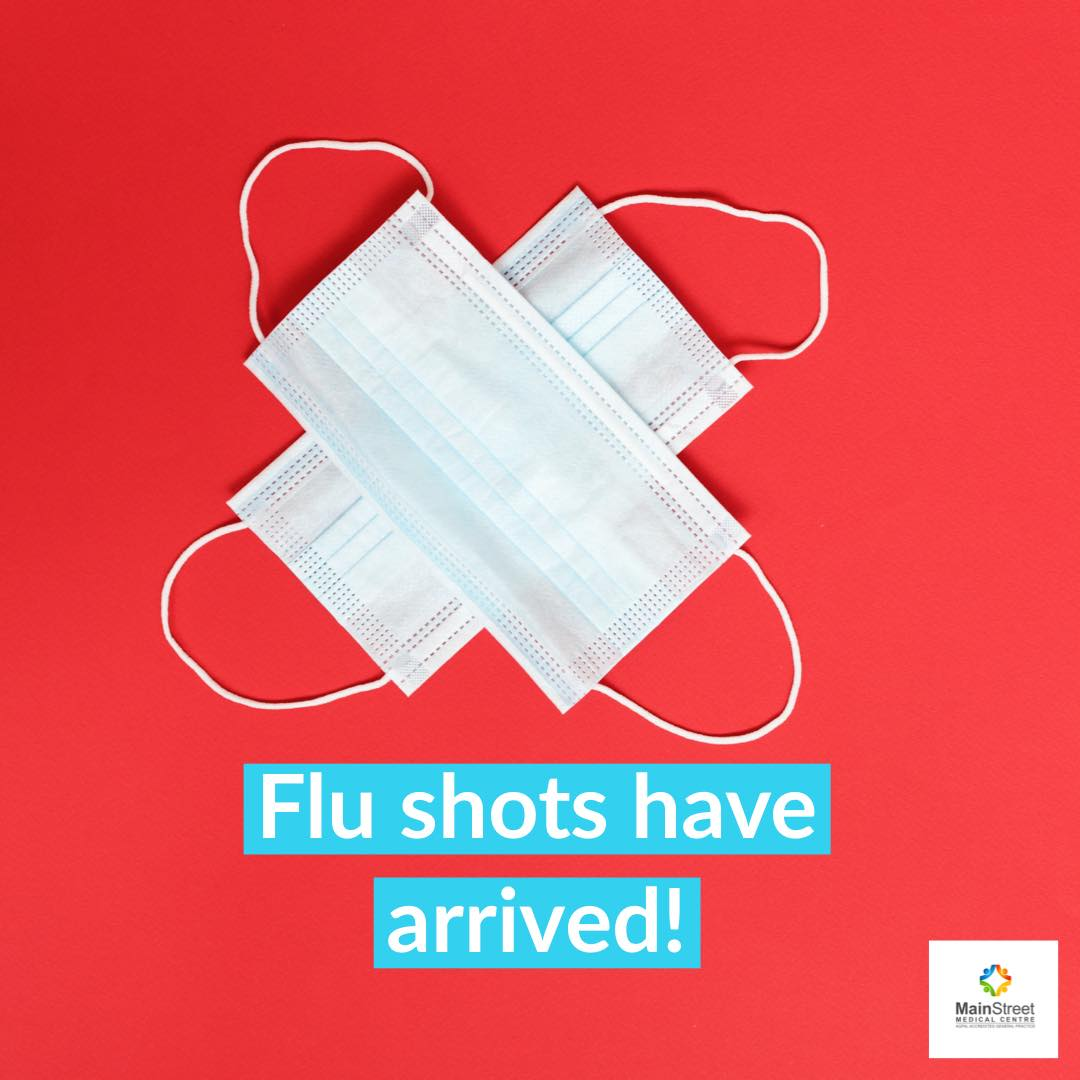 Flu Shots are here!