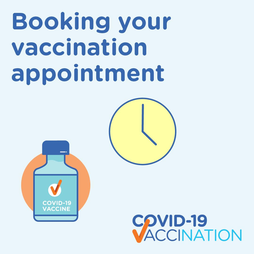 Book your Pfizer and Astra Zeneca Vaccine online