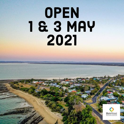 Open 1 & 3 May 2021