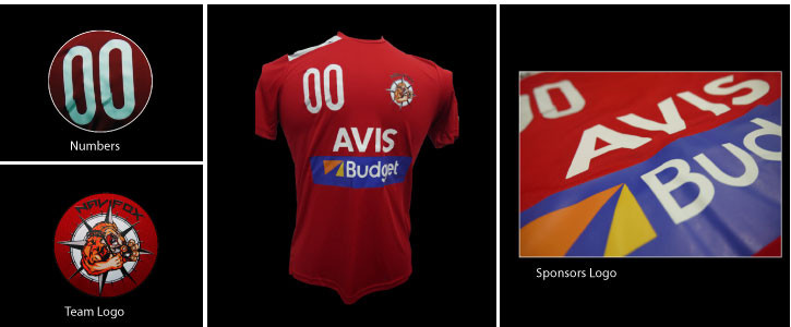 Jerseys for AVIS Singapore