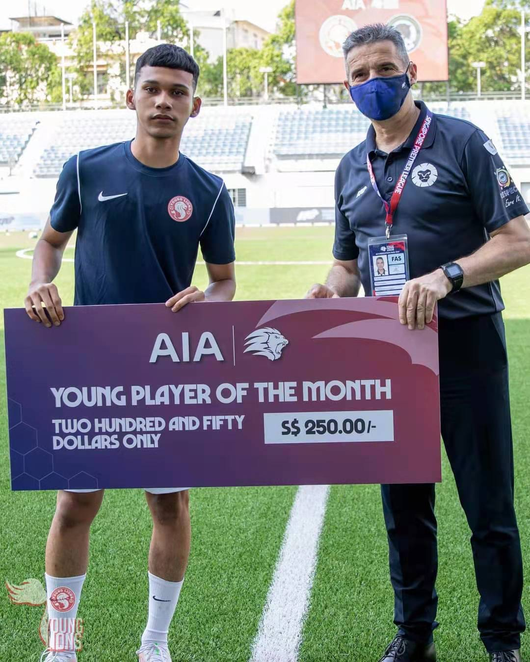 SPL Young Player of the month - Khairin Nadim