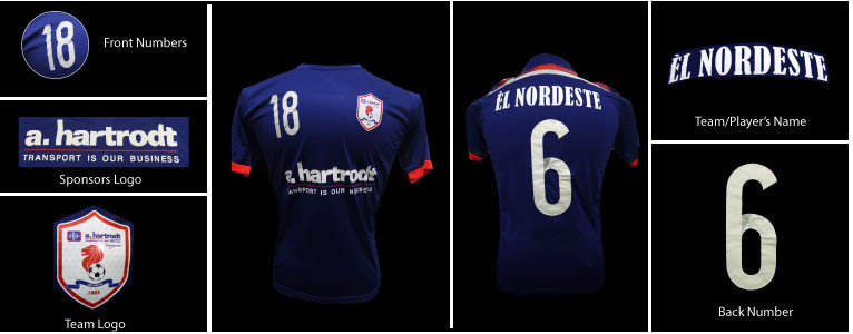 Jerseys for A.Hartrodt Singapore