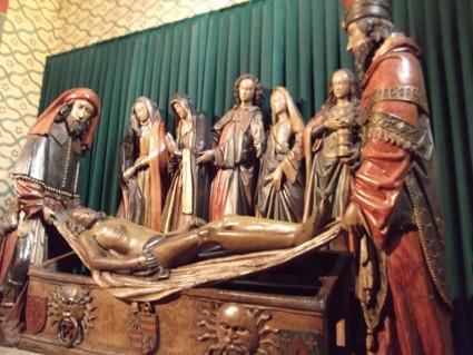 Mise au tombeau fin XVème siècle