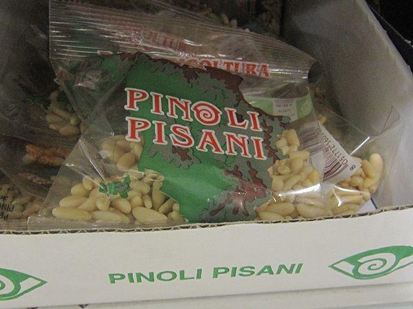 ピサの特産、松の実