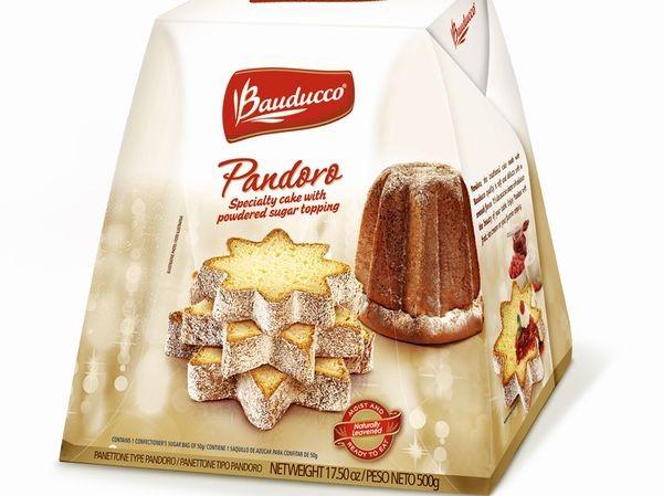クリスマスの定番パンドーロ