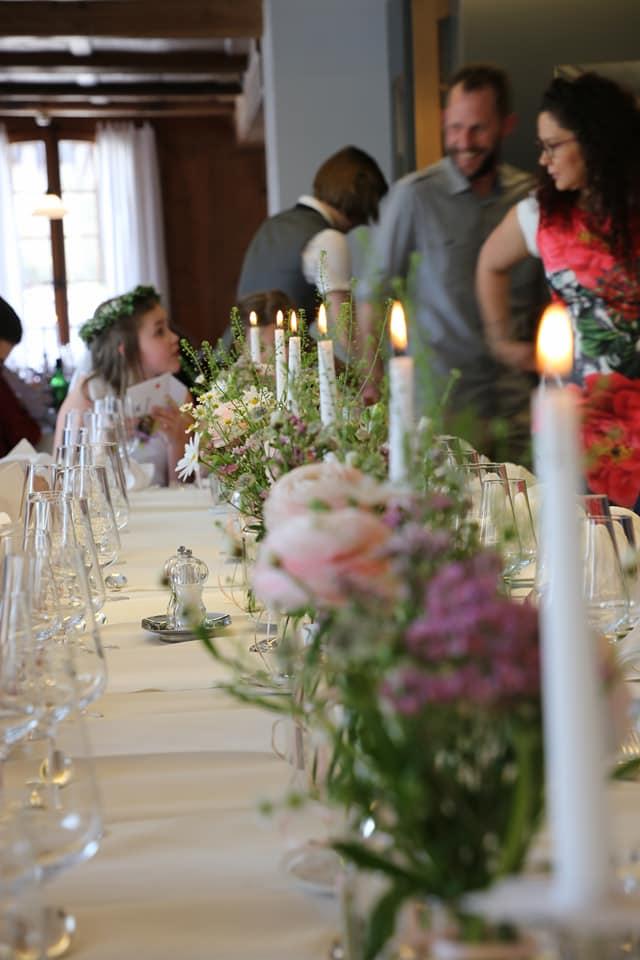 Familienfest im Restaurant zum Löwen Messen