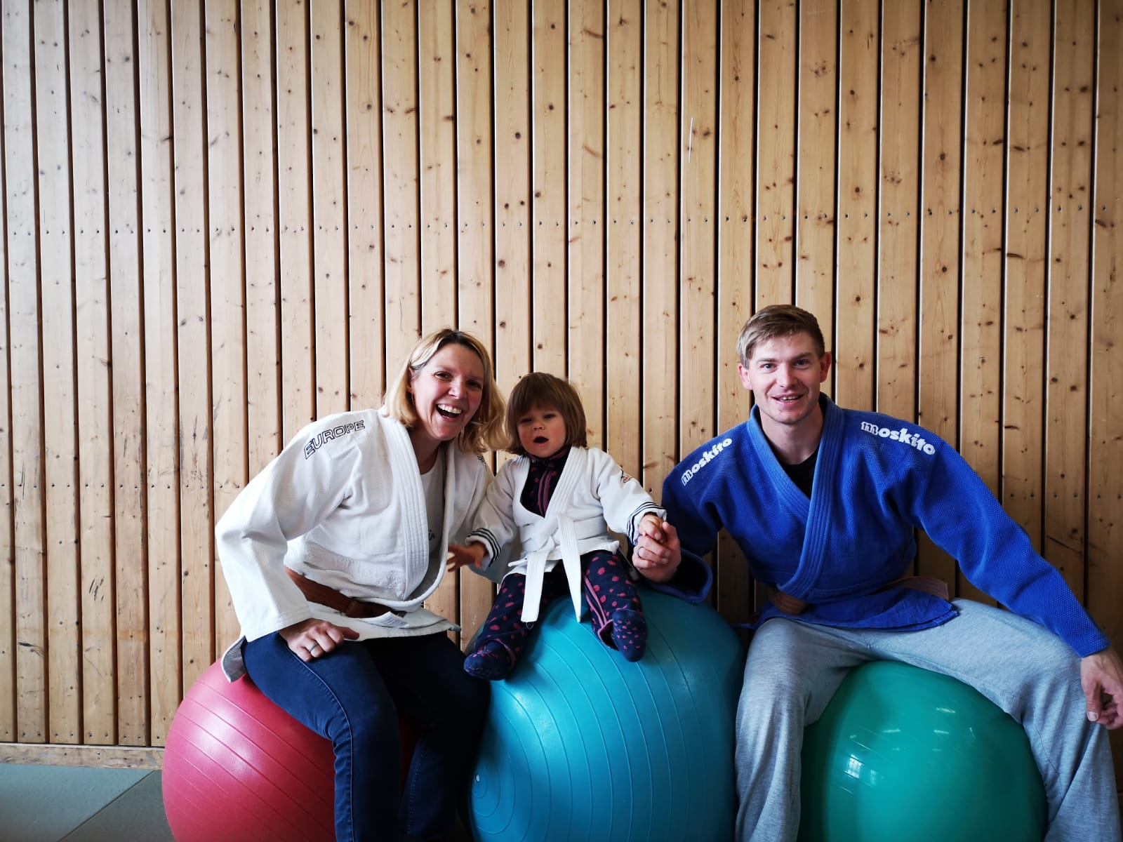 Günther, Claudia & Dirk mit Mia