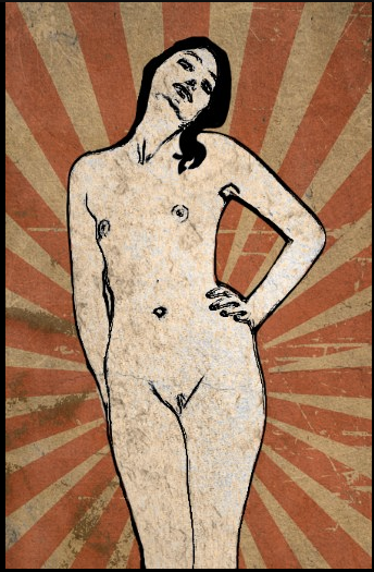 AVAILABLE - Nude 4 - Acrylic - 74x114cm - contact me