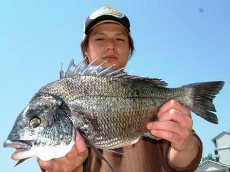 5月3日 ボートからダゴチン釣り 樋口さん 50㎝・43㎝