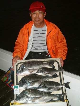 2月28日 磯からフカセ釣り 坂口さん 54㎝・50㎝・48㎝