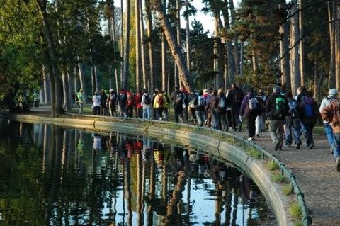 festival de la randonnée pédestre d'Ile de France au Bois de Boulogne et dans les Hauts-de-Seine