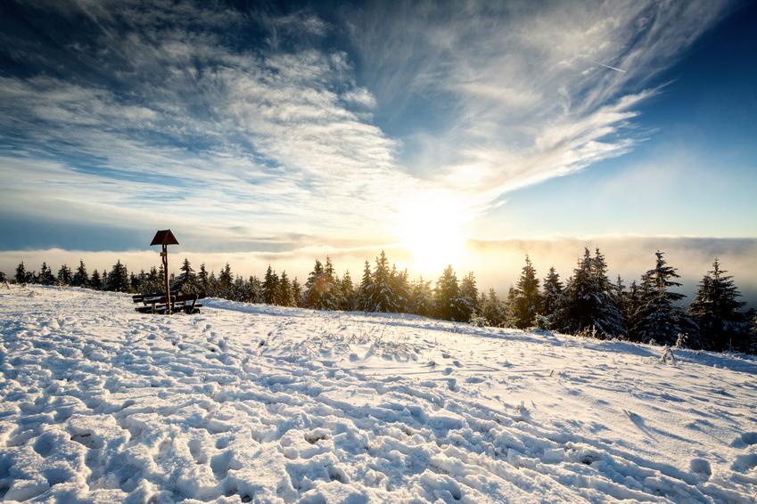 Schneekopf im Winter