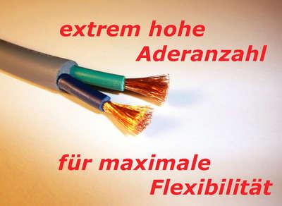 ...Anschluss über feinadriges, hochflexibles Boxenkabel 2 x 2,5qmm...