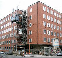 Verwaltungsgebäude Oberbaudirektion München,Bauherr und Planung SWM-München. ca. 10.000 m2 klimasan-F