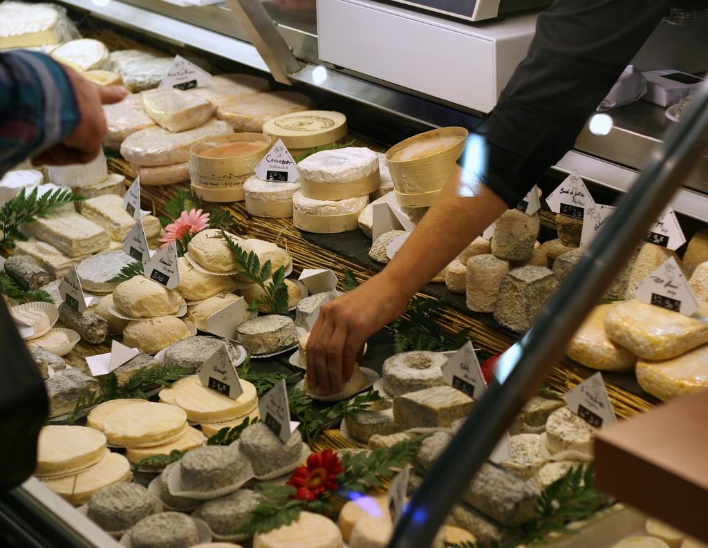 Los quesos del mercado Victor Hugo de Toulouse