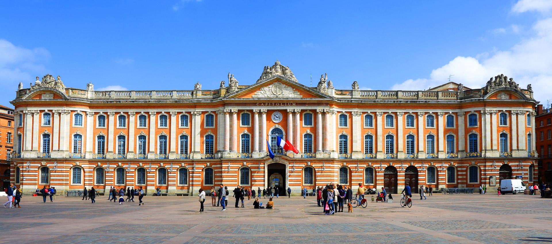 El Capitole, la Alcaldía de Toulouse.