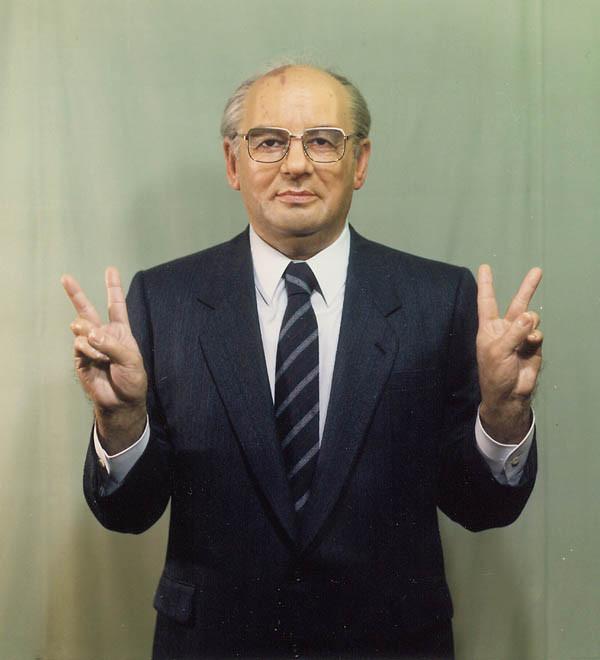 ゴルバチョフ元露初代大統領 「2島、2島でどうですか?」      /85年久米宏ニュースステーション出演