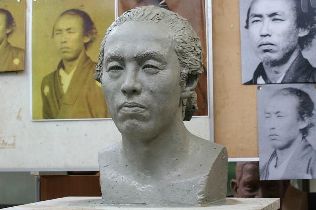 坂本龍馬粘土原型