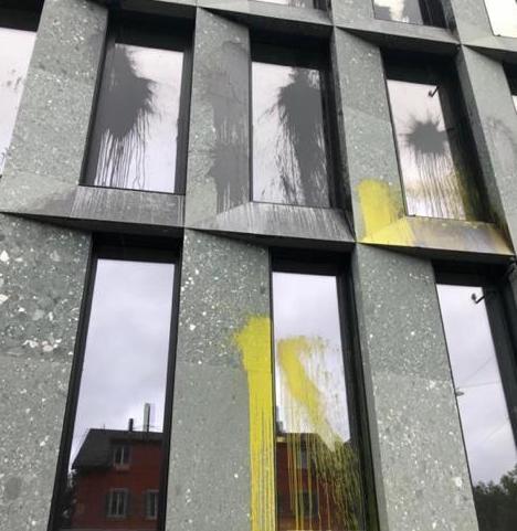 Reinigung Graffiti