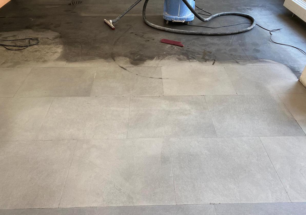 Reinigung und Bearbeitung Sandstein (nachher)