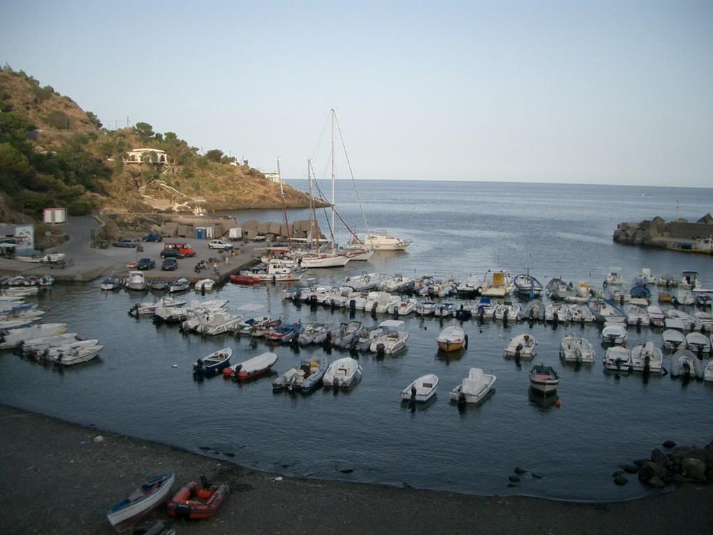 Ile d'Ustica, nord de la Sicile.