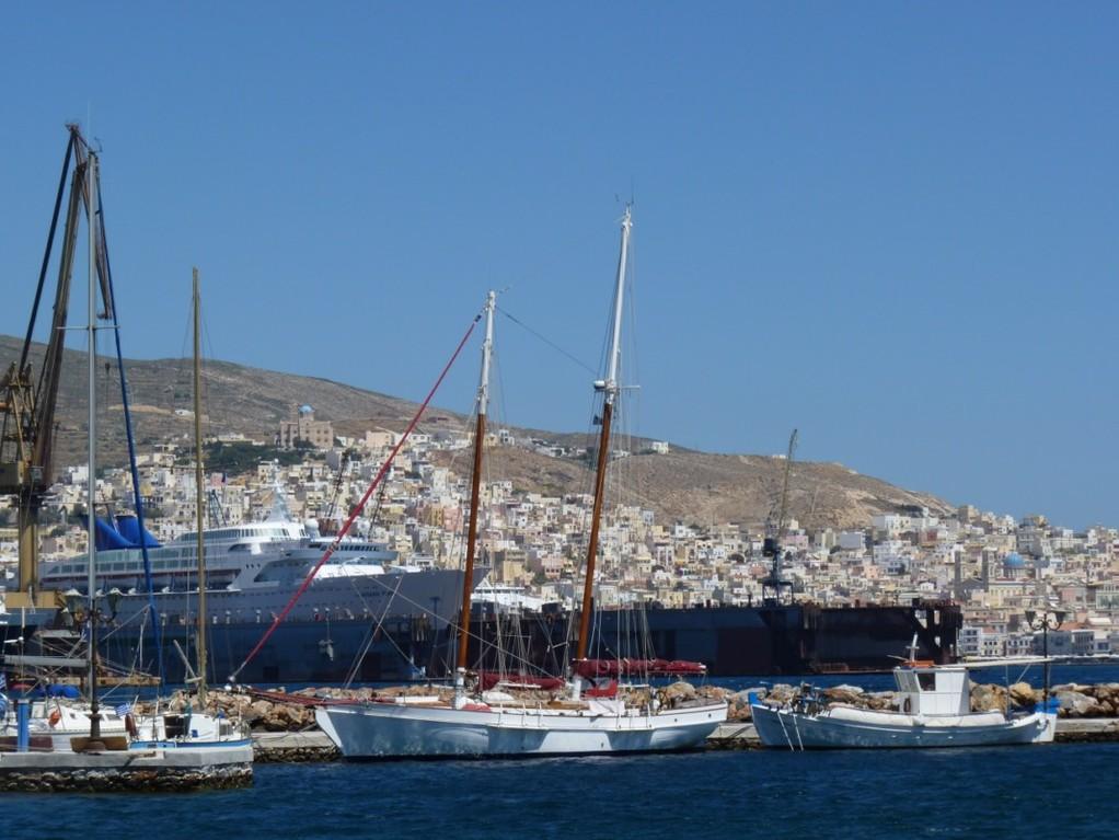 Port de Syros.