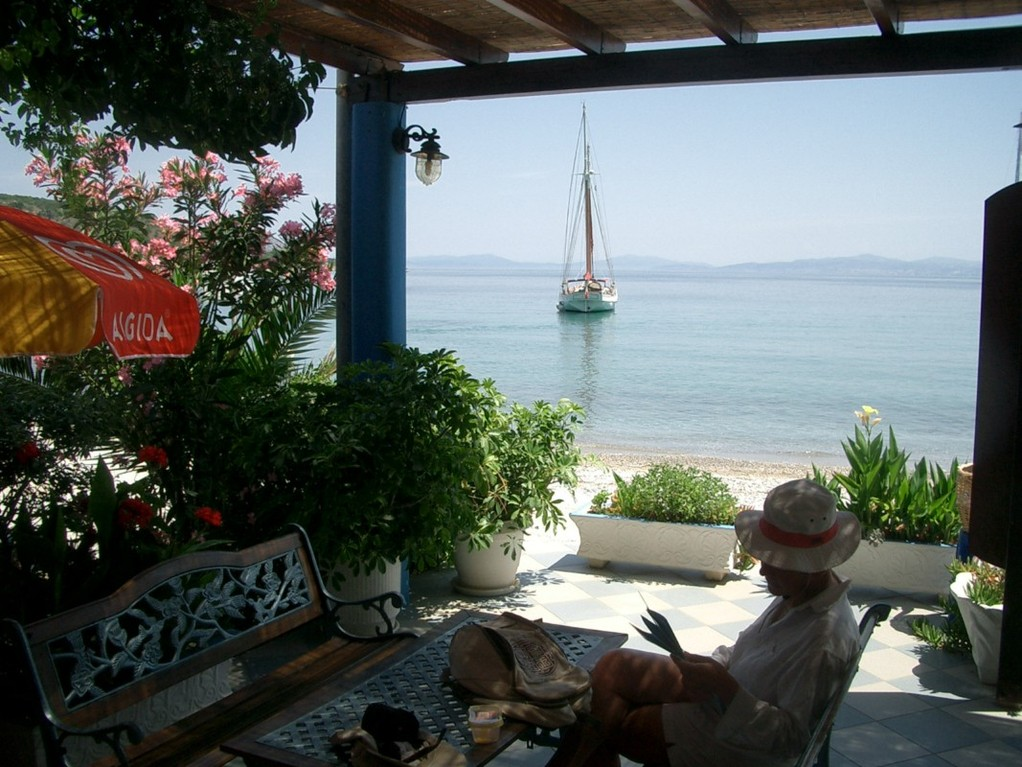 Ile de Samos, Ormos Kerbeli, Grèce.