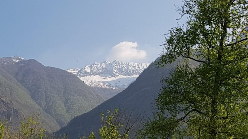 Panorama sui monti