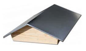 DA47 155 Toit chalet en bois tôlé dadant 10 cadres complet