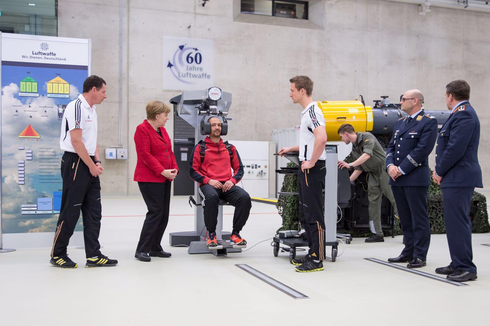 Frau Dr. Merkel zu Besuch