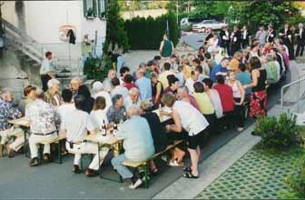 Feier in Lotzwil