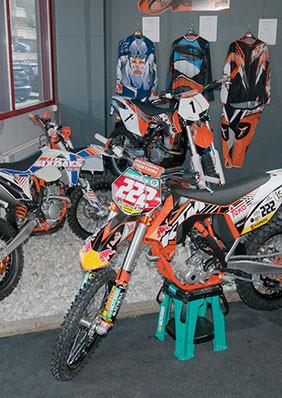 Motorräder im Shop