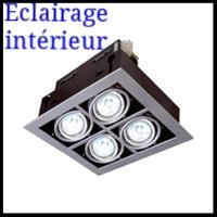 Lampe et spot intérieur & extérieur armature pour l'industrie et le bureau