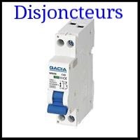 Matériel électrique disjoncteur pour la maison et les professionnels